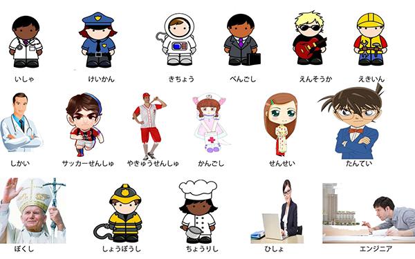 Nghề nghiệp tiếng Nhật là gì?